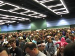 The masses of geek lining up for PAX.