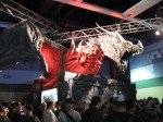 A Dragon on the Skyrim booth. Best booth at PAX.
