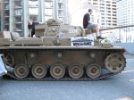 Tank in Seattle for World of Tanks.