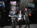 Cosplay from Mass Effect. I did a double take when I saw the Turian. Best alien costume at the PAX.